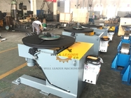 Automatic welding Positioner with welding clamp chuck self centering 0-90deg position
