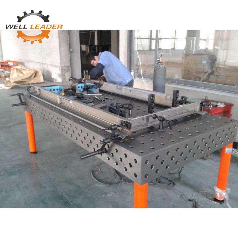 5 Working Surface Certiflat Welding Table Plate For Welding Assemble